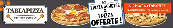 Pizza Tablapizza offerte
