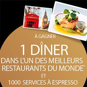 Jeu Instants gagnants Carte Noire : 1000 services à Espresso
