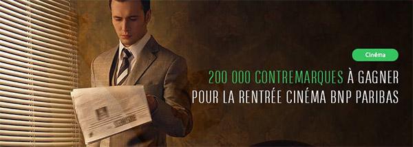 Jeu La Rentrée du Cinéma 2016