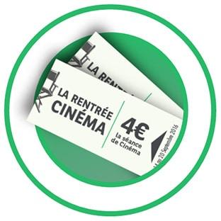 La Rentrée du Cinéma 2016 : Contremarques à 4€ la séance