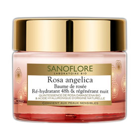 Testez le baume Rosa Angelica de Sanoflore : 50 gratuits