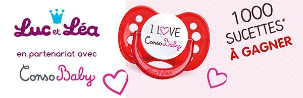 Concours Conso Baby Luc et Léa