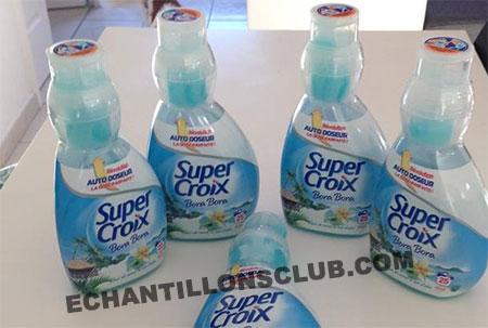Bon plan Auchan sur la lessive auto-doseur Super Croix