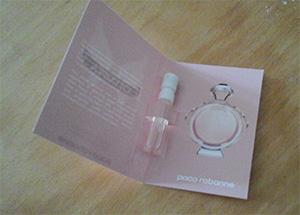 Échantillon parfum Olympéa de Paco Rabanne
