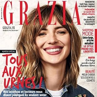 Abonnement magazine Grazia gratuit : 13 numéros offerts