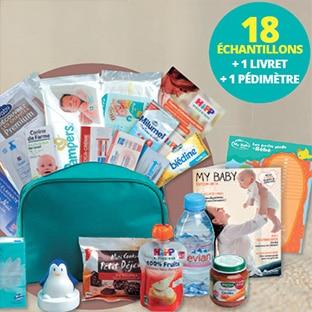 Auchan Baby : Trousse de naissance Pampers gratuite !