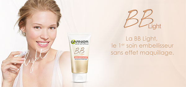 échantillons BB Light de Garnier