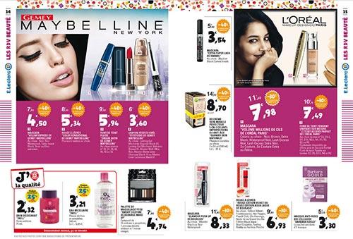 Catalogue Leclerc Rendez-Vous Beauté