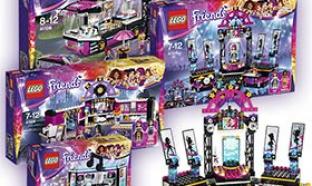 Jeu Disney avec 45 boites de Lego Friends gratuites à gagner