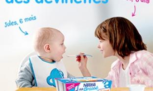 Jeu des laitages Nestlé Bébé : 360 lots à gagner