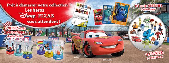Collectez vos pochettes Disney Pixar
