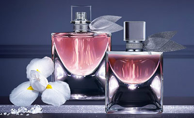 échantillon de l'eau de parfum La Vie est Belle