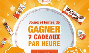Jeu concours Kinder Happy Time