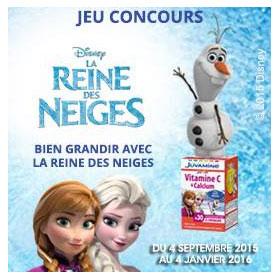 200 DVD La Reine des Neiges et 50 peluches Olaf à gagner