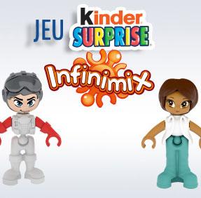 Jeu concours Kinder Infinimix : 500 cadeaux à gagner