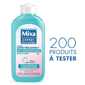 Lotion Mixa anti-imperfections : 200 produits à gagner