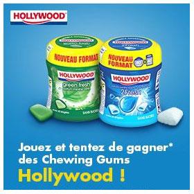 Jeu Ma vie en couleurs : Gagnez des chewing-gums Hollywood