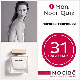 30 parfums et 1 coffret prestige Narciso Rodriguez à gagner