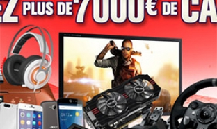 Concours GrosBill : 59 lots high-tech à gagner