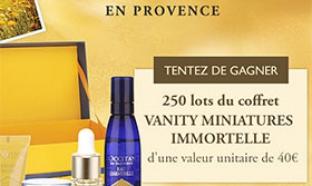 Concours L'Occitane en Provence