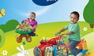 30 jouets VTech Baby pour l'éveil de Bébé à gagner
