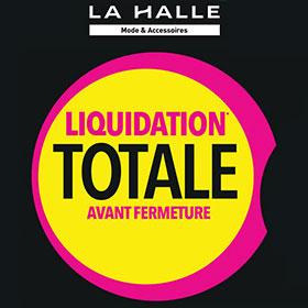 Bon plan La Halle : Liquidation Totale avant Fermeture
