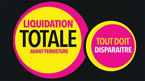 La Halle : Liquidation Totale avant Fermeture