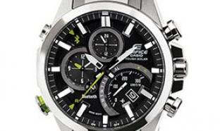 Test de la montre solaire connectée Casio Edifice : 100 gratuites