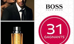Jeu Nocibé : 31 parfums The Scent de Hugo Boss à gagner