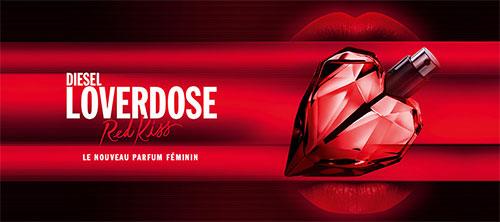 Le nouveau parfum Diesel LoverDose Red Kiss