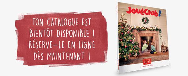 Recevez gratuitement le catalogue de Noël 2016 des magasins Joué Club