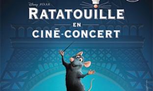 50 places pour le ciné-concert Ratatouille et 100 DVD à gagner