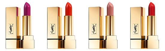 Rouges à lèvres Pur Couture d'Yves Saint Laurent