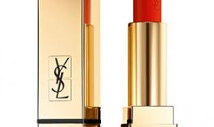 échantillon test de rouge à lèvres Yves Saint Laurent