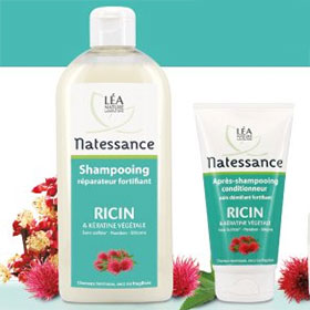Test Shampooing + Après-shampooing Natessance : 200 gratuits