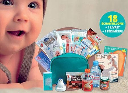 La Babybox gratuite d'Auchan