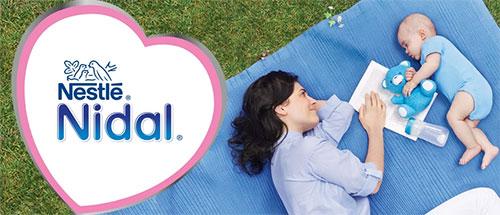 Laits infantiles Nestlé Nidal gratuits