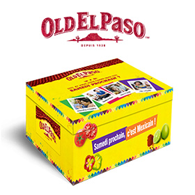 Concours Old El Paso : 110 Box surprises à gagner