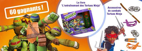 Gagnez des jouets Tortues Ninja avec ToysRUs