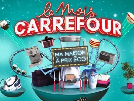 Catalogue Le Mois Carrefour : Ma maison à prix éco