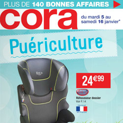 Catalogue Cora : La Puériculture