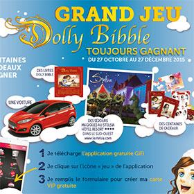 Jeu Dolly Bibble : 270'000 cadeaux gratuits à retirer chez GiFi