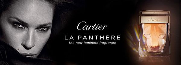 échantillon du parfum Cartier La Panthère