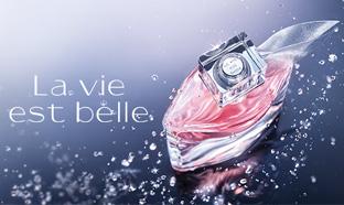 Échantillon de l'eau de parfum La vie est belle de Lancôme