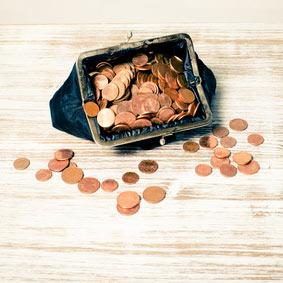 1/4 des Français disposent de moins de 10€ à la fin du mois