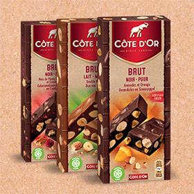 Jeu Instants Gagnants Côte d'Or : 1520 tablettes de chocolat