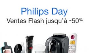 Ventes Flash Amazon : Jusqu'à -50% sur des produits Philips