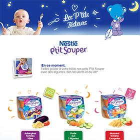 Testez les pots P'tit Souper de Nestlé Bébé : 1750 gratuits