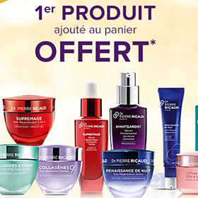 Bon plan Dr. Pierre Ricaud : Réduction + 1er produit gratuit