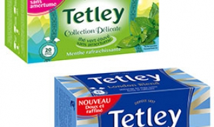 échantillon test de thé Tetley